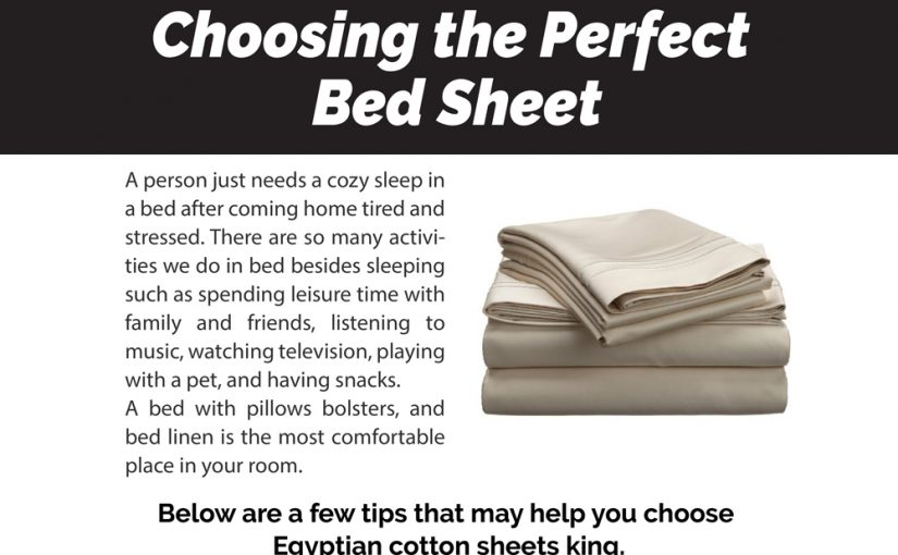 Choosing the Perfect Bed Sheet