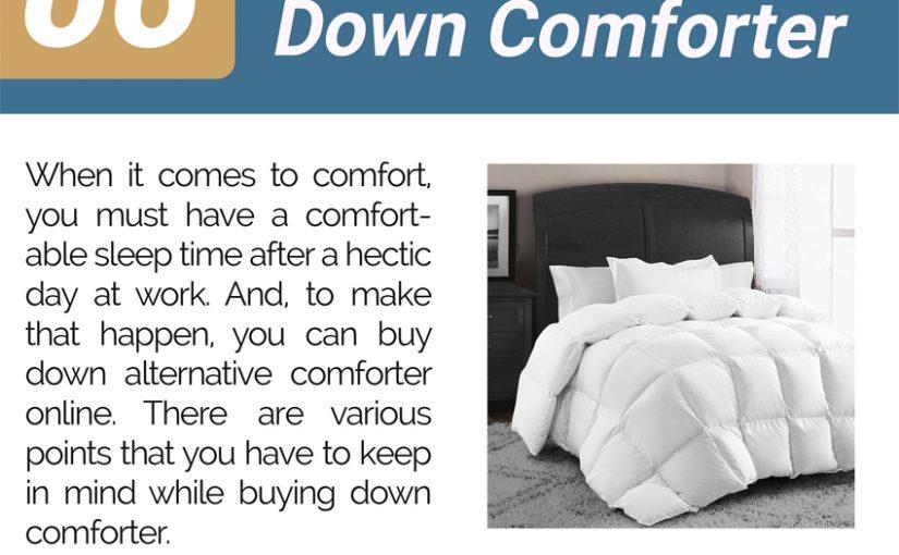 06 Tips To Buy Down Comforter